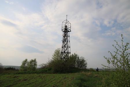 Wieża triangulacyjna w Kielanówce